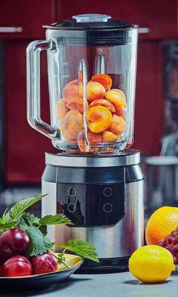 Glass Jar Blender