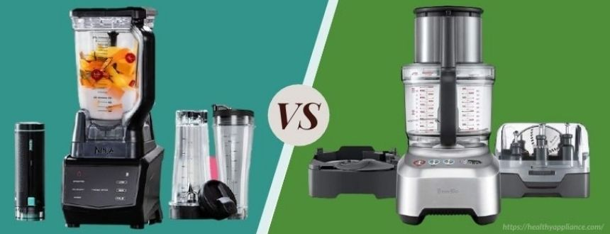 What Is The Difference Between A Blender And A Food Processor