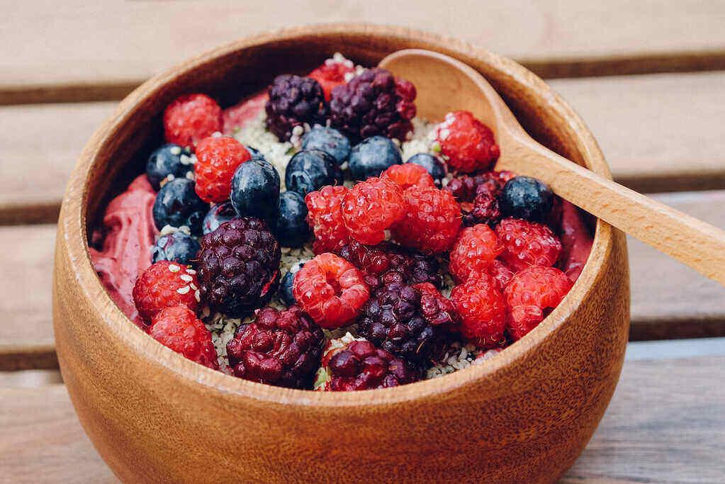Texture of Acai Berries