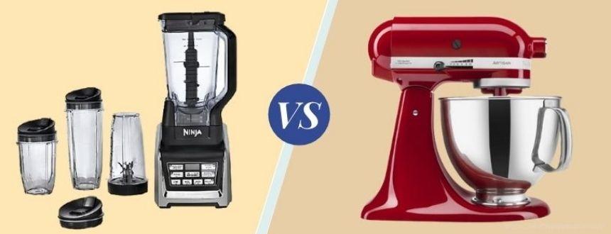 blender vs mixer