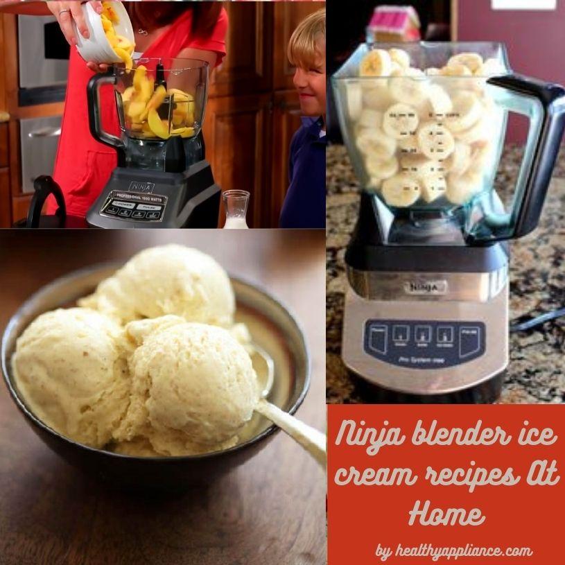 ninja blender ice cream recipes